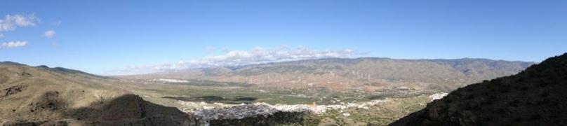panorámica Siera Nevada