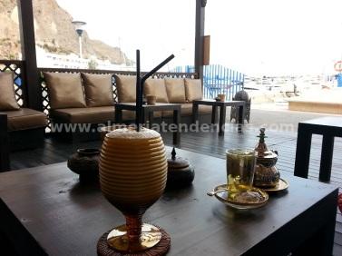 Batido de manzana, canela y té negro en Tetería Samsara