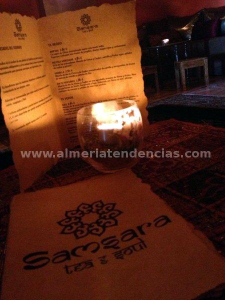 Carta de Tetería Samsara