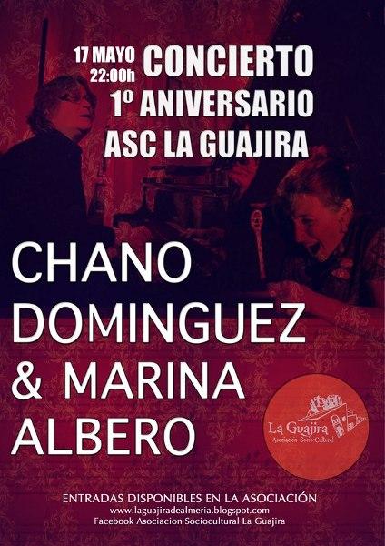 Concierto Chano Dominguez