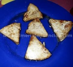 queso frito en Casa Joserra