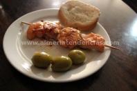 Taberna de Domi - Pincho Gambas y Salmón