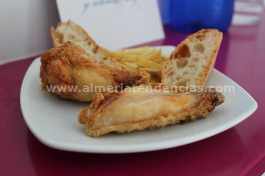Alitas de pollo al limón - en Azul Cereza