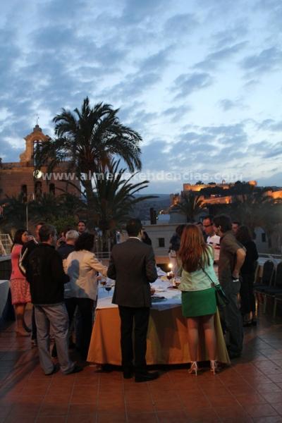 Cena Clandestina en una azotea - Hotel Catedral