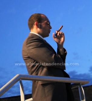 Bernardo Acuyo en el papel del Inspector Arsenio Lupen