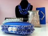Complementos en azul Kyka