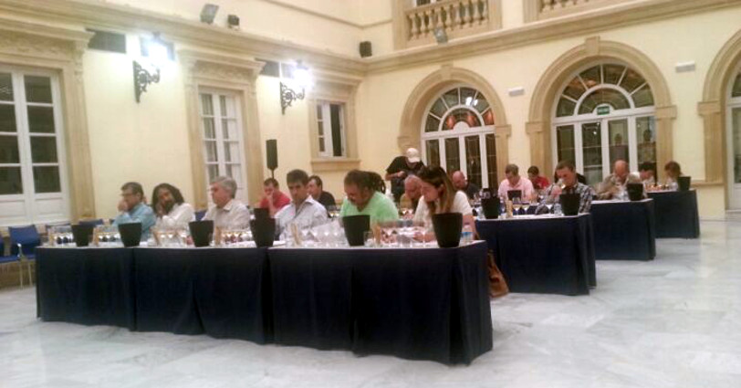 cata a ciegas de vinos de Almería