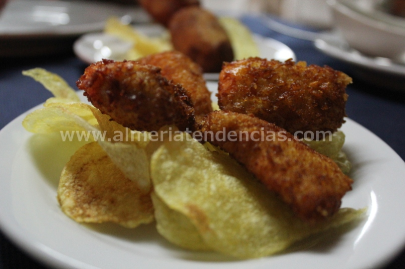 Nuggets de pollo en Kiosco Almadrabillas