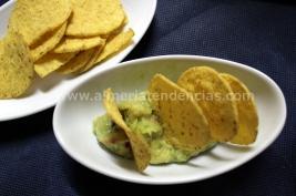 Nachos con guacamole en Kiosco Almadrabillas