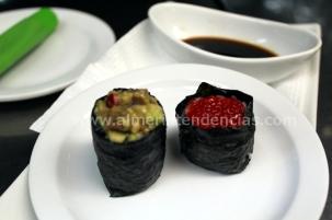 maki sushi en Kiosco Almadrabillas