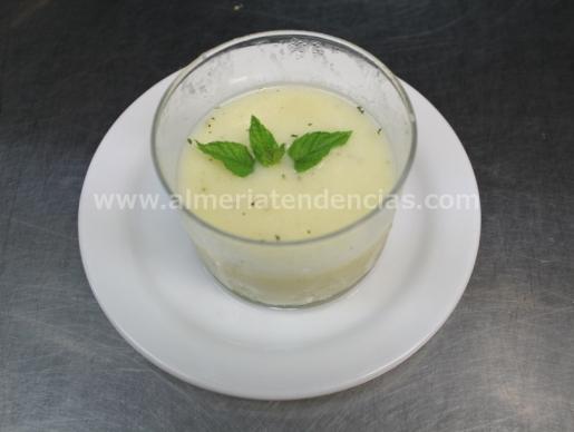 gazpacho de melón - Kiosco Almadrabillas