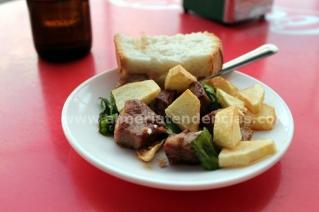 Pintao Viejo - Carne ajillo